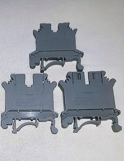 DIN Rail Terminal Connectors
