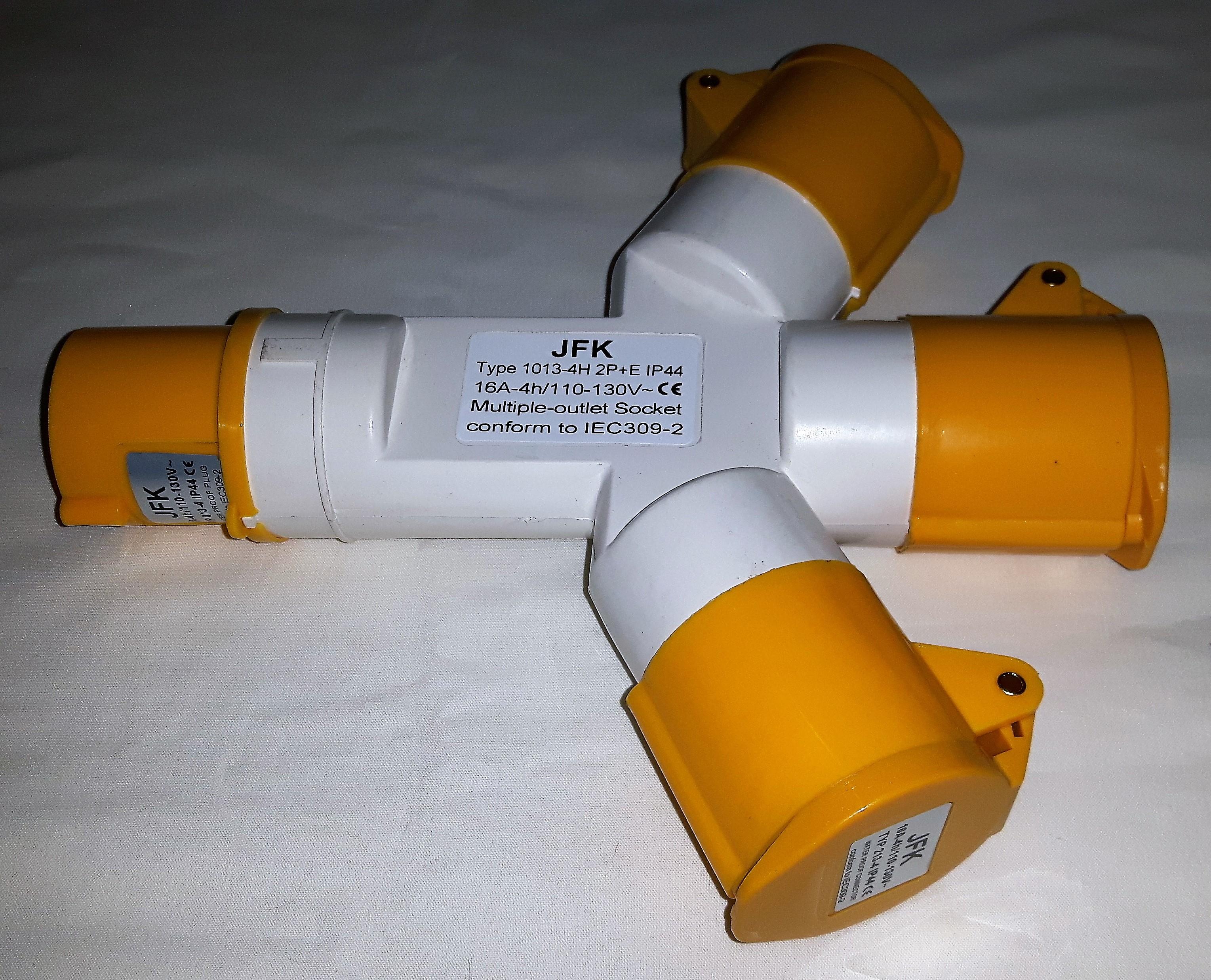 16 Amp 110 Volt Splitter