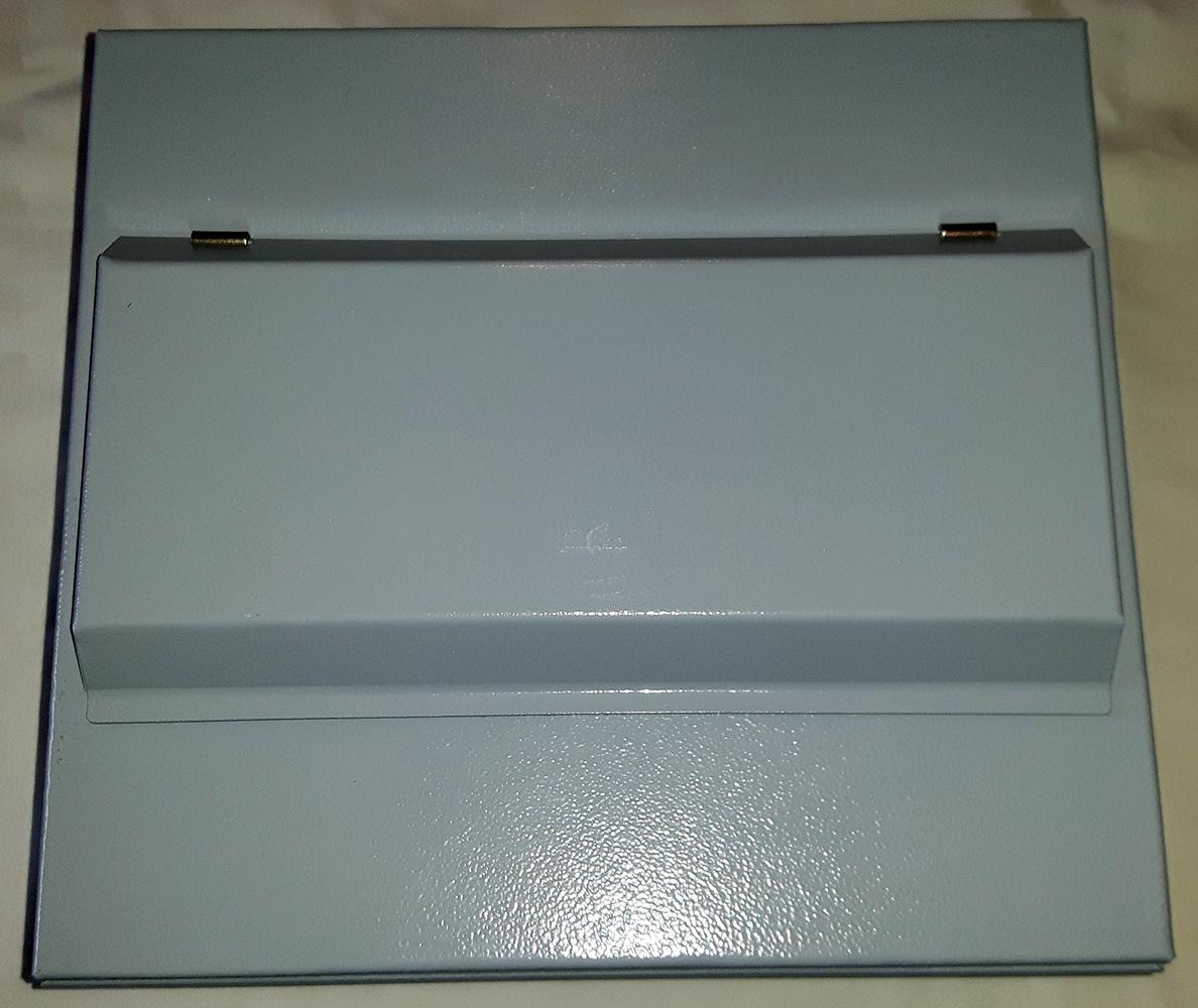 6 Way Metal Consumer Unit + 80Amp 30mA RCCB