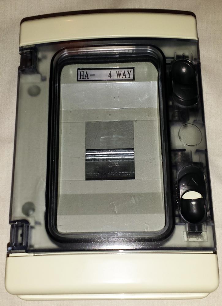 Plastic Consumer Units IP65
