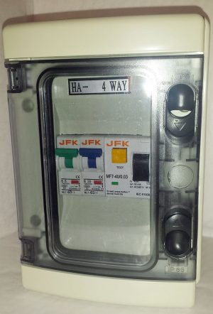Plastic Consumer Unit 2 Way + 30ma RCD