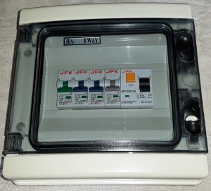 Plastic Consumer Unit 4 Way + 30mA RCD