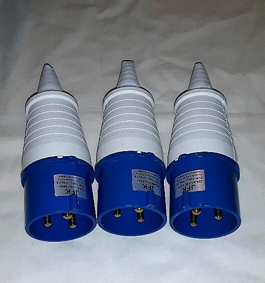 32 Amp 240 Volt Plugs