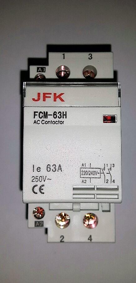 Modular Contactors 240V AC Coil (63A)