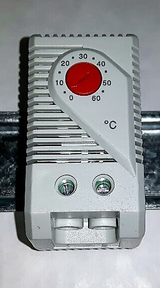 Red Heating Panel Thermostat